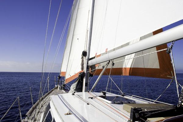 sailing charter boat