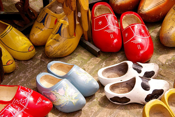 collectible wooden shoes