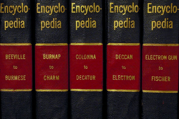 encyclopedia spines