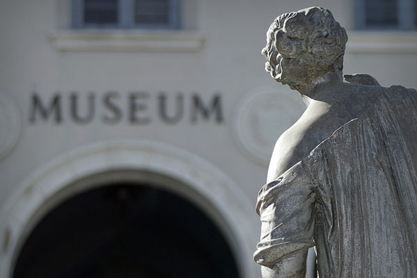 museum and statue