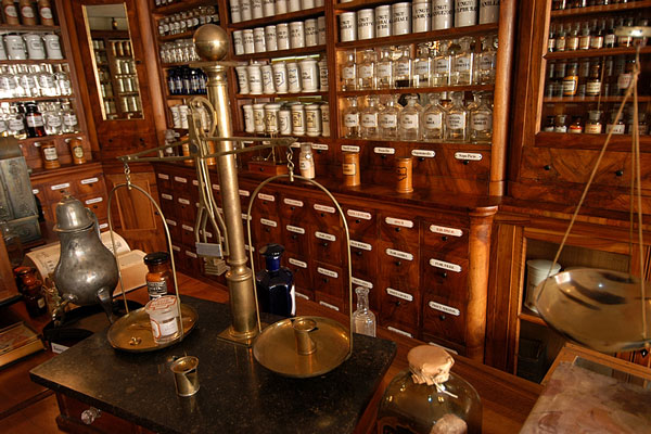 vintage pharmacy - apothecary shop