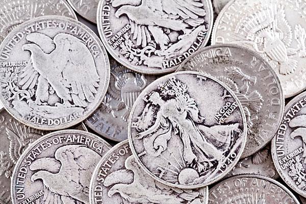 old half-dollar coins