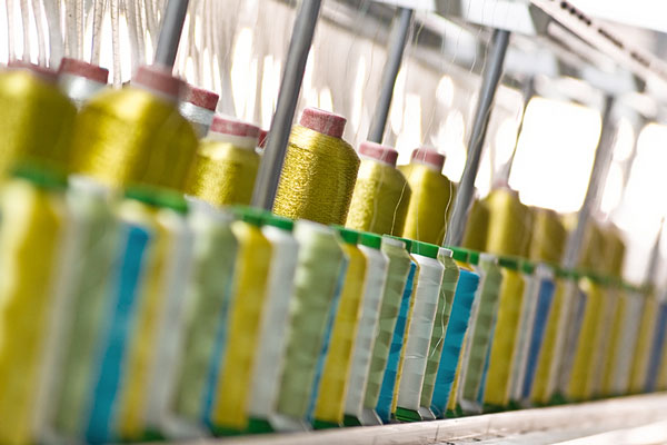textile factory production line